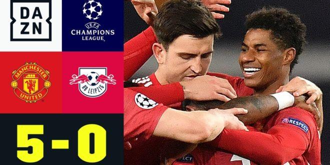 England-Ausflug wird für RB zum Desaster: Man United - Leipzig 5:0 | UEFA Champions League | DAZN