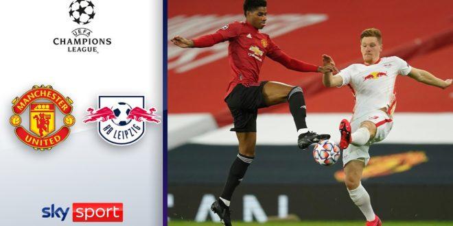 Leipzig geht in Manchester schwimmen    Manchester United - RB Leipzig 5: 0    Höhepunkte der Champions League