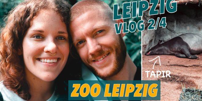 Leipziger Zoo    Gondwanaland    Tour durch Deutschlands schönsten Zoo    Leipziger Vlog (2/4)