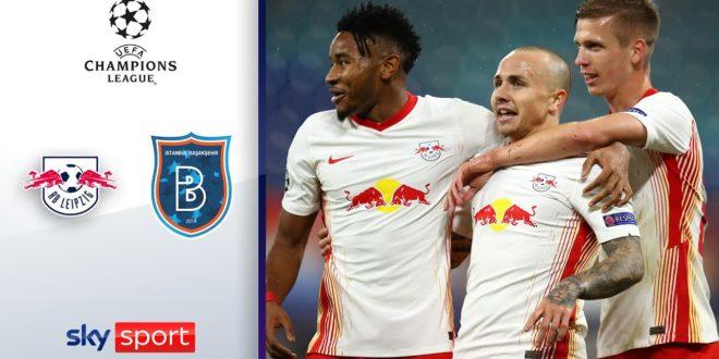 Angeliño glänzt für RB |  RB Leipzig - Istanbul Basaksehir 2: 0 |  Höhepunkte - Champions League 20/21