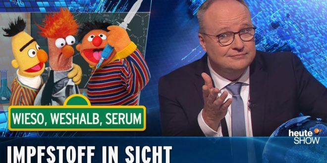 Corona-Demo in Leipzig: Anti-Impfgegner, verärgerte Bürger und Nazis |  Heute Show vom 13. November 2020