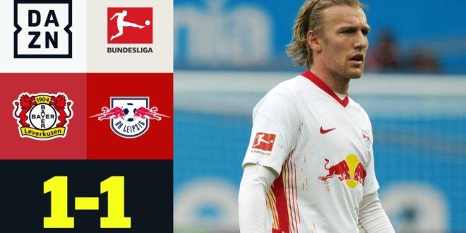 Forsberg Hammer reicht nicht um zu gewinnen: Leverkusen - RB Leipzig 1: 1 |  Bundesliga |  DAZN Highlights