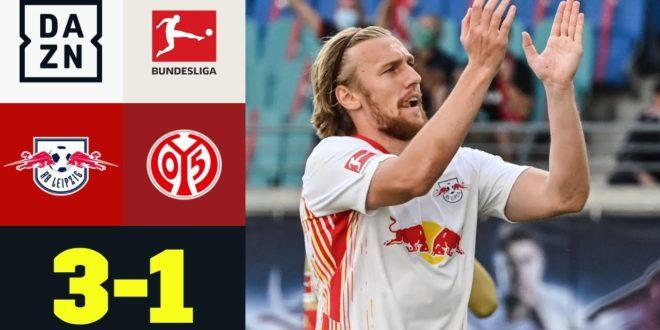 Forsberg ebnet den Weg für einen souveränen RB-Sieg: Leipzig - Mainz 3: 1 |  Bundesliga |  DAZN Highlights