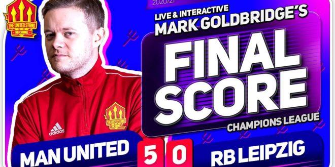 GOLDBRIDGE!  Manchester United 5-0 RB Leipzig Spielreaktion