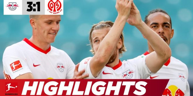 Leipzig glänzt mit Dominanz  Leipzig - Mainz 3: 1    Highlights    Bundesliga