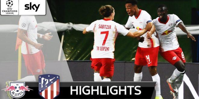 Leipzig wirft Atlético raus!  |  RB Leipzig - Atlético Madrid 2-1 |  Höhepunkte - UEFA Champions League
