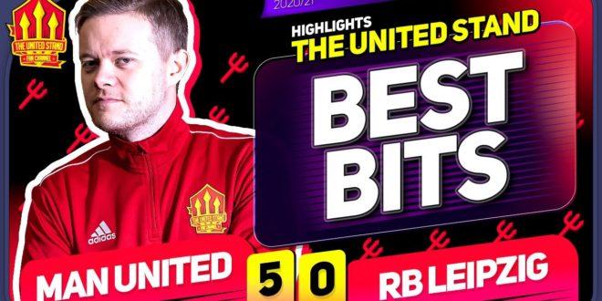 Man United 5-0 RB Leipzig Mark Goldbridge BEST BITS