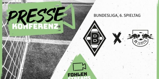 PK vor dem Spiel: Borussia - RB Leipzig