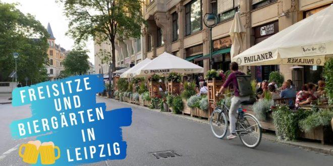 Sitzgelegenheiten im Freien und Biergärten in Leipzig