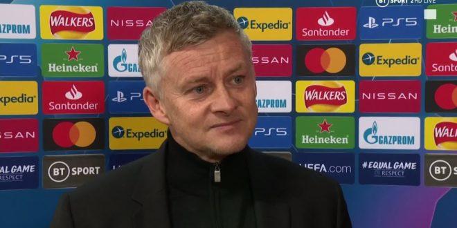 """""""Diese Gruppe kommt zusammen"""" Solskjaer reagiert auf Man Utd 5-0 RB Leipzig"""