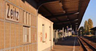 Aus der Zeit gefallen: Bahnhof Zeitz