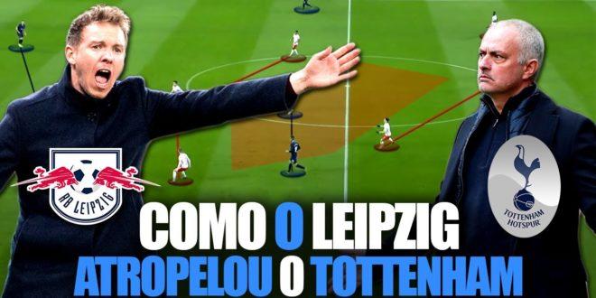 Como o Leipzig Atropelou o Tottenham