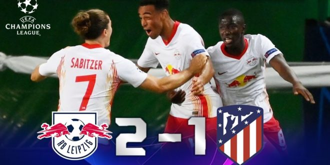 RB Leipzig gegen Atlético Madrid [2-1]    GOLES    Cuartos de final    Champions League