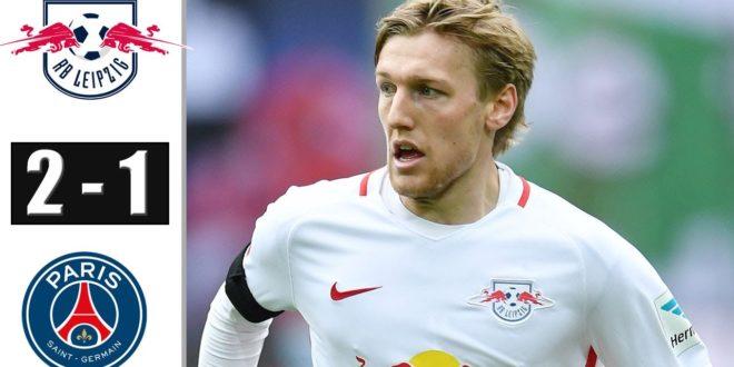 RasenBallsport Leipzig gegen PSG 2-1 - Alle Ziele und erweiterte Highlights - 2020 (Emil Forsberg ZIEL)