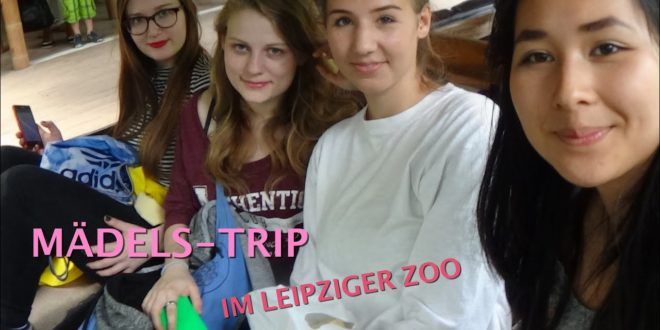 VLOG # 1/2 - Leipziger Zoo: TIERE + KOMMENTARE |  ERSTER TAG