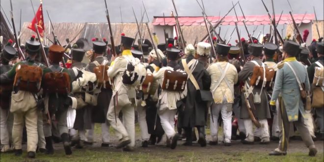 Die Völkerschlacht bei Leipzig 1813 |  Hauptkampfdarstellung