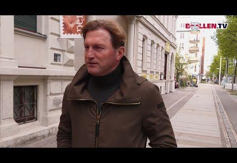 Ein Spaziergang durch Leipzig mit Ralph Hasenhüttl.