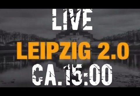 LIVE aus Leipzig ab ca. 15 Uhr