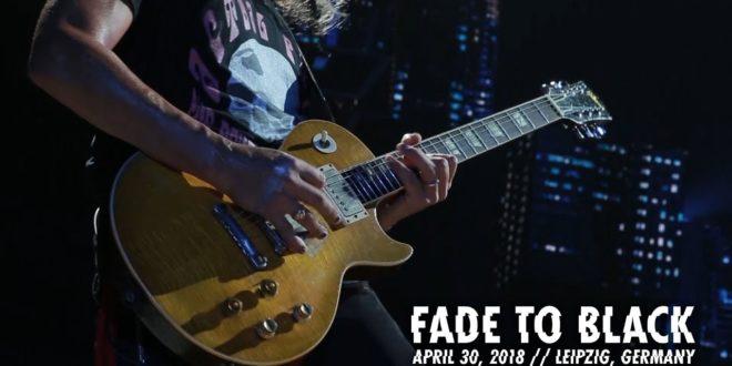 Metallica: Fade to Black (Leipzig, Deutschland - 30. April 2018)