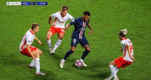 Neymar gegen RB Leipzig (18.08.20) |  HD 1080i
