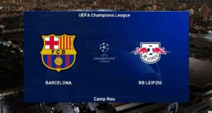 PES 2021 |  Barcelona gegen Leipzig |  UEFA Champions League UCL |  Gameplay-PC