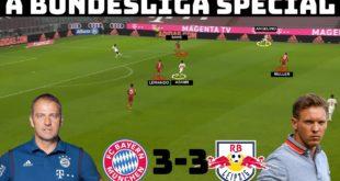 Taktische Analyse: Bayern München 3-3 RB Leipzig |  Flick's Tactics gegen Nagelsmann's Tactics |