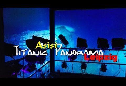 Titanic Panorama Leipzig Yadegar Asisi 360-Grad-Wrack Panometer Expedition sinkende Pressekonferenz
