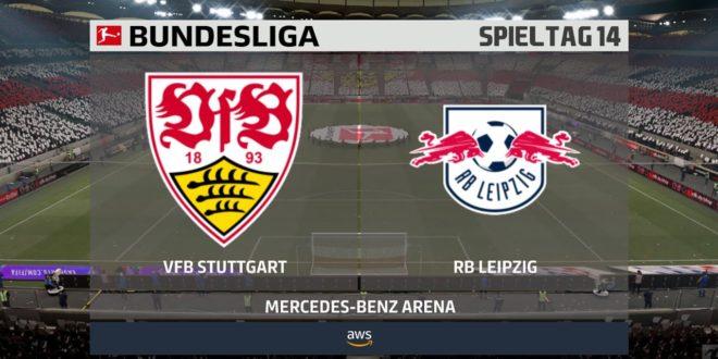 VfB Stuttgart: RB Leipzig 14. Spieltag ⚽ FIFA 21 Bundesliga ? Gameplay Deutsch