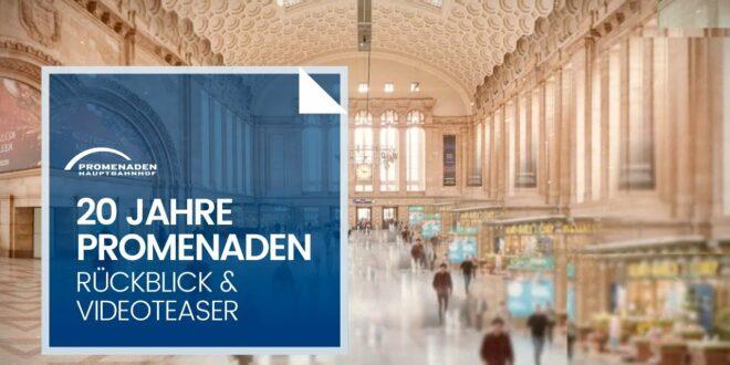 20 Jahre Promenaden Hauptbahnhof Leipzig