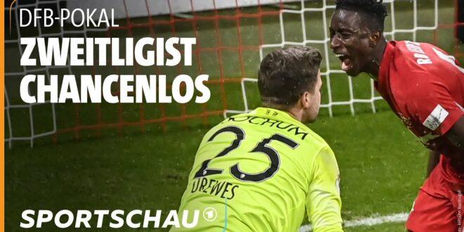 DFB-Pokal: RB Leipzig dominierte gegen Bochum I Sportschau