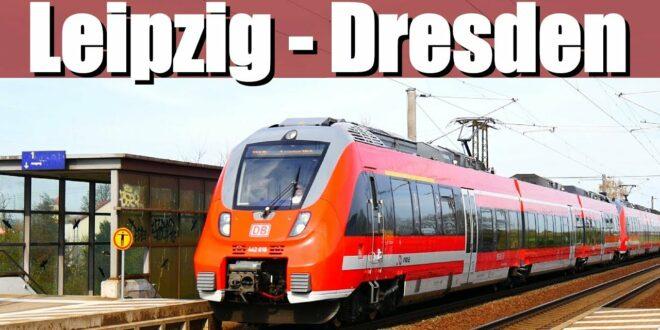 "[Doku] Eisenbahnlinie: Leipzig - Dresden |  RE50 ""Saxonia Express"" (Teil 2)"