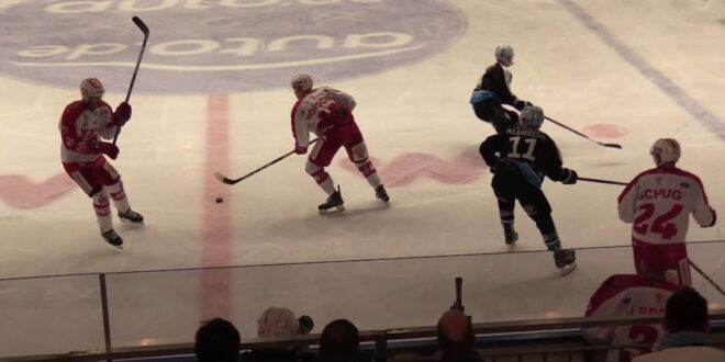 Eishockey Leipzig - Halle 3. Drittel