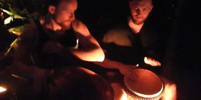 CYMAT bei Magical Tropical Lights (Leipziger Zoo) - Handpan und Djembé