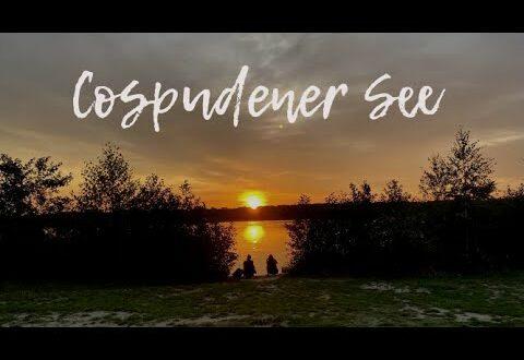 Cospudener See in Leipzig, Deutschland |  Schöner Sonnenuntergang |  Verlangen nach Pinay