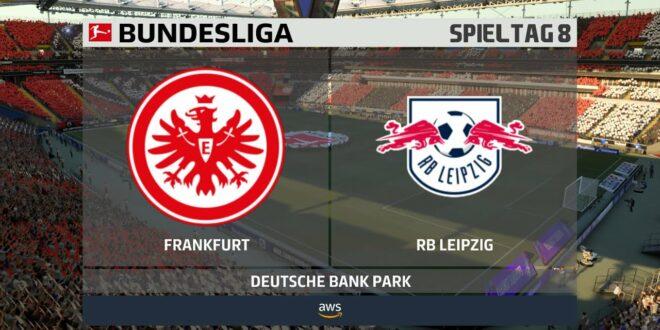 Eintracht Frankfurt VS.  RB Leipzig [8.Spieltag] 21.11.2020 [FIFA 21]