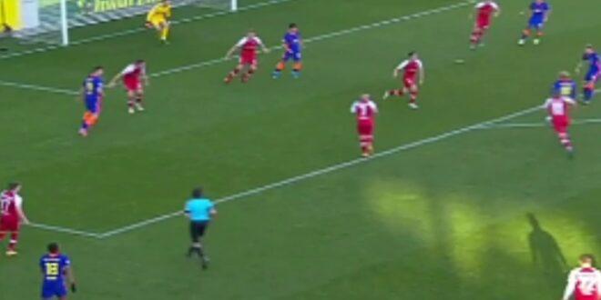 Forsberg Tor gegen Freiburg |  Freiburg gegen RB Leipzig |  0-3 |