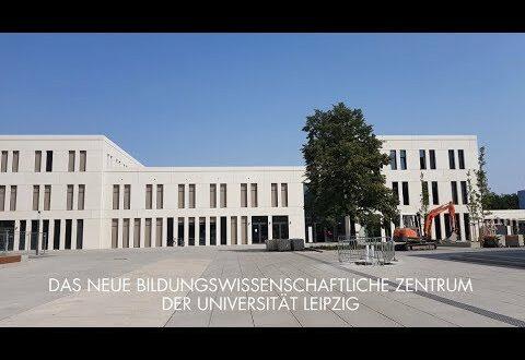 Führung durch das neue pädagogische Wissenschaftszentrum der Universität Leipzig