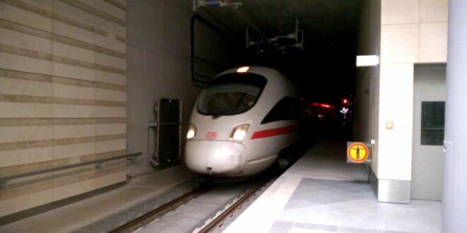 ICE 1745 Leipzig Hbf (tief) Stadttunnel Leipzig