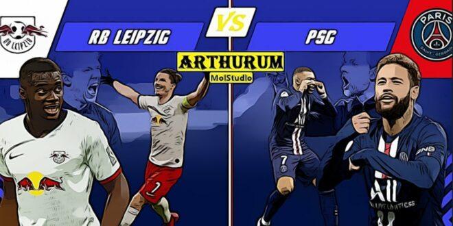 RB Leipzig x PSG - Champions League - 18.08.2020 - HALBFINAL