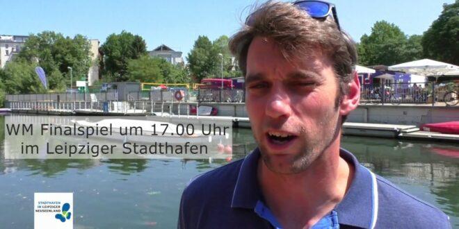 WM-Finale im Leipziger Stadthafen