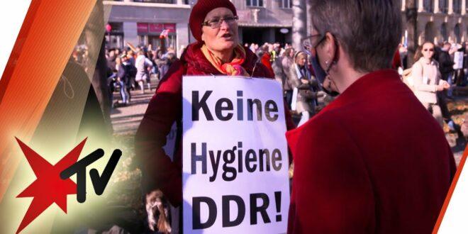 Covid-19 erholt sich von der Demo des Querdenkens in Leipzig: Versuch eines Dialogs |  Heckfernseher