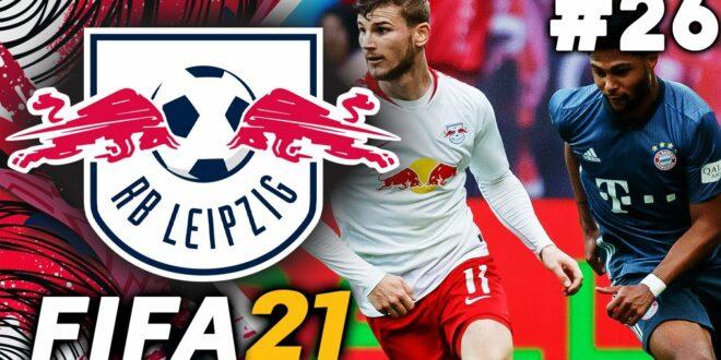 DEN TITEL GEGEN BAYERN MÜNCHEN GEWINNEN !?  - FIFA 21 RB Leipzig Karrieremodus EP26