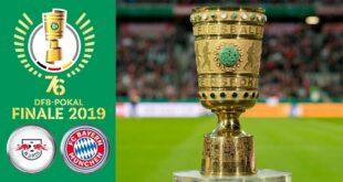 DFB-Pokalfinale 2019 ᴴᴰ RB Leipzig gegen FC Bayern München - 25. Mai 2019 |  FIFA 19