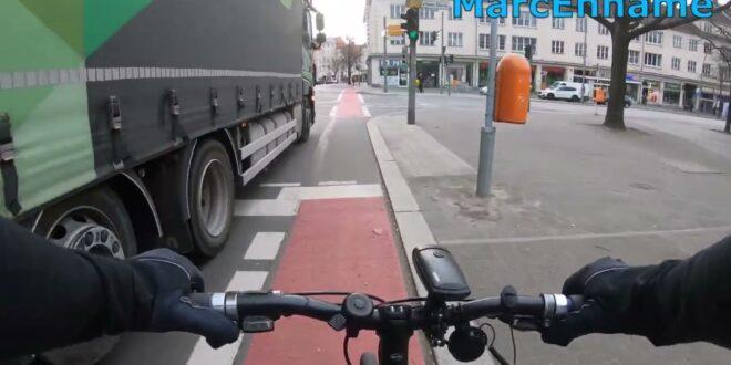 [Dashcam] Radfahren in Leipzig # 29