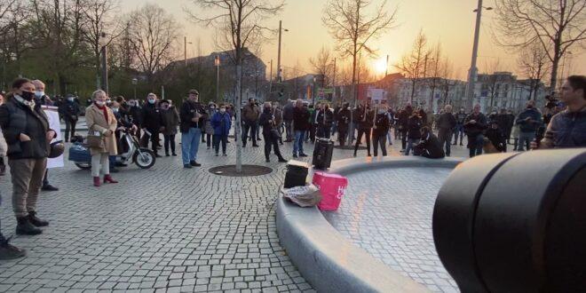 Demo Leipzig 19.04.2021