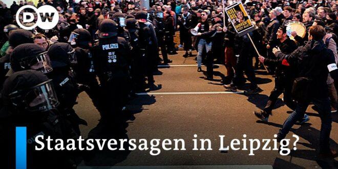 Demo zum Querdenken in Leipzig: 'Die Bewegung hat sich radikalisiert' |  DW News