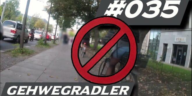 Fahrrad Dashcam Deutschland (Leipzig) - Folge # 035 - Gehwegradler