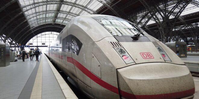 ICEs Berlin Leipzig 4K