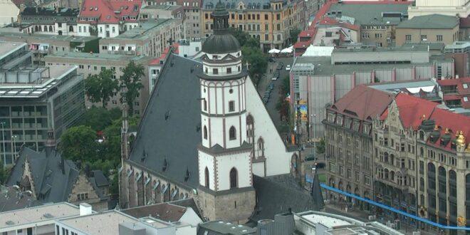 Impressionen: Blick über die Leipziger Dächer