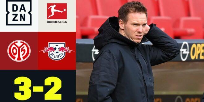 Knall!  05er betrogen bevorzugte Bullen: Mainz 05 - RB Leipzig 3: 2    Bundesliga    DAZN